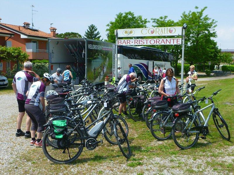 I ciclisti sono i benvenuti